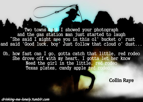 Little Red Rodeo by Collin Raye