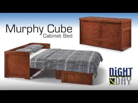 Night Day Furniture Murphy Cube Cabinet Bed Cabinet Bed