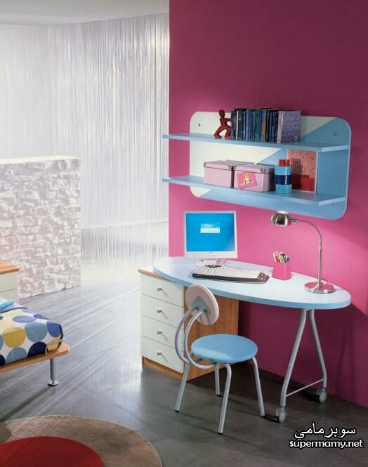 Pin By Rawan Ali On مكاتب للمذاكرة للبنات Kids Study Spaces Kids Room Desk Ikea Kids Desk