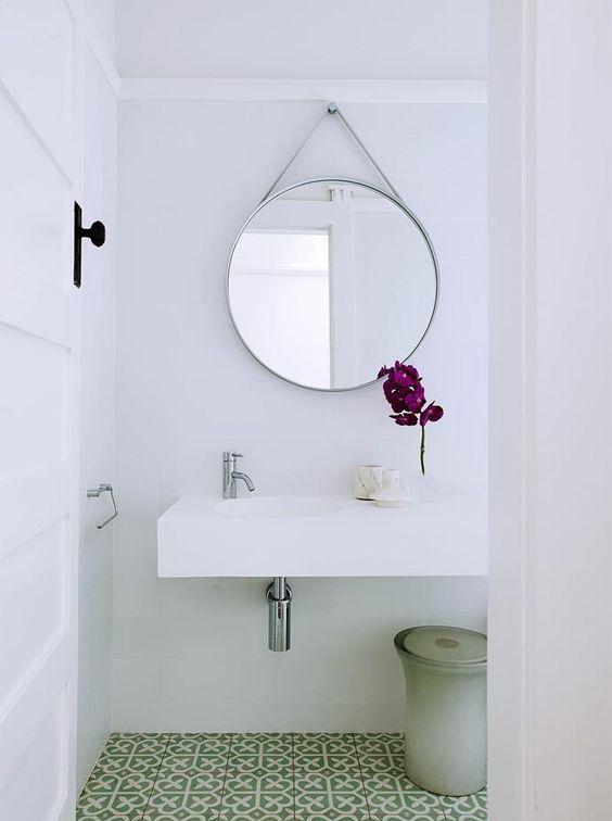 ウォールミラー スタンプ 鏡 ヘイ コーディネート例 洗面室 トイレ