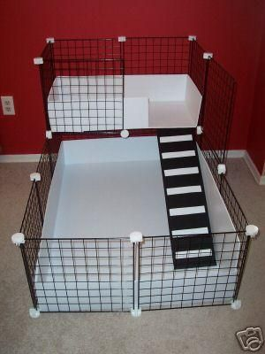 Whitmor black wire storage cubes set of 4 hedgehog home for Wire guinea pig cages