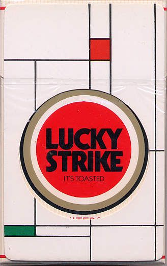 flyer goodness vintage lucky strike cigarette packaging tobacco advertising pinterest. Black Bedroom Furniture Sets. Home Design Ideas