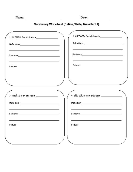 Common Core Worksheets 3rd Grade Language Arts Common