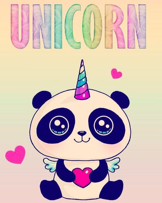 Pandacorn Cute Doodles Cute Drawings Panda Wallpapers