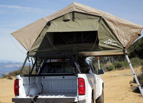 (Review of Canvas Rooftop Tents) | North & Hinterland Model Jalama.... (Review of Canvas Rooftop Tents ...