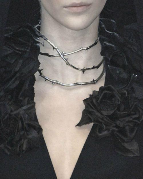 Haute Goth: Alexander McQueen, 2007: