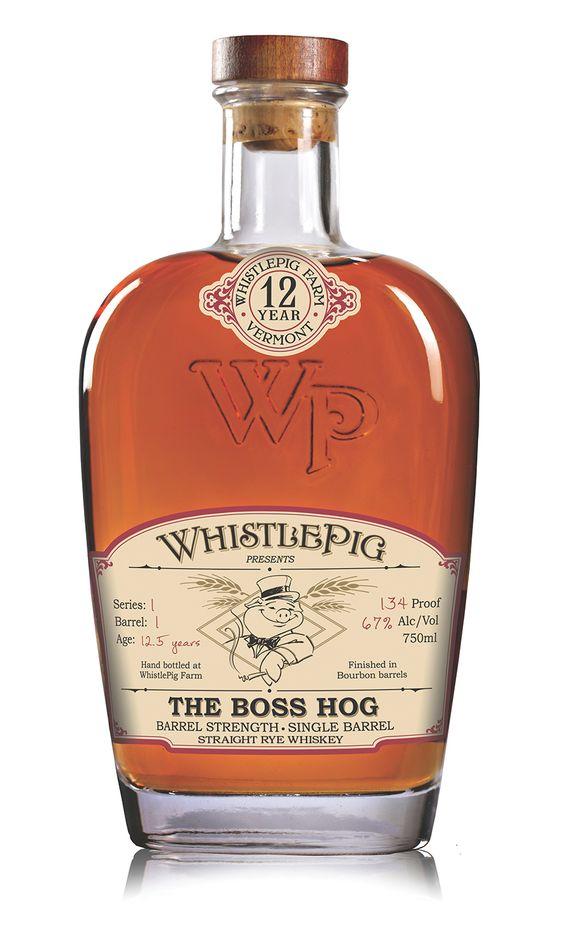 Whistlepig The Boss Hog Whiskey   bottledesign #whiskey #packaging
