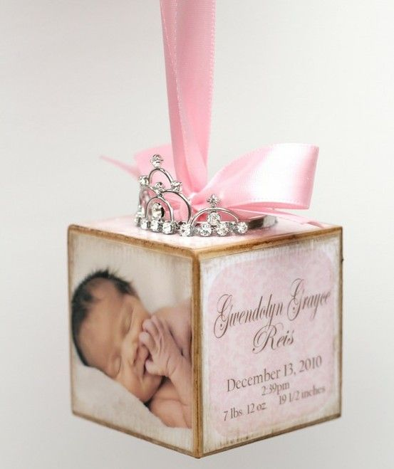 Adorable ornament idea! Do one for each child