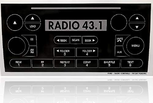 Radio Button Repair Decals For Ford F 150 Expedition Focus