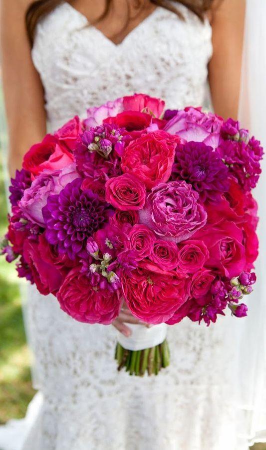 Bouquets de mariage 2019 modernes, tendances et 50 photos