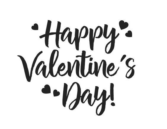 Happy Valentine Guys Valentinstag Handlettering Geschenkideen
