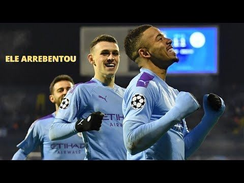 Dinamo Zagreb 1 X 4 Manchester City Gabriel Jesus Brilha Em Campo Melh Zagreb Manchester City Gabriel Jesus