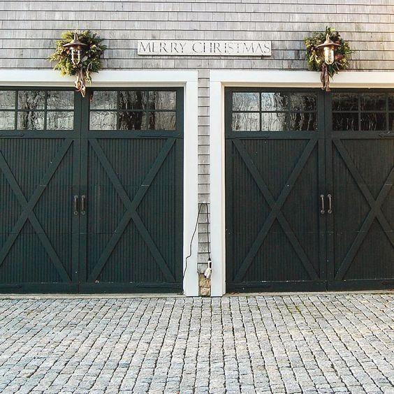 Converted Garage Door Ideas And Pics Of Garage Doors Costco Garage Garageorganization Garagedoors Garage Door Design Black Garage Doors Garage Doors