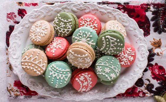 I macarons natalizi, i dolcetti chic da regalare - LEITV