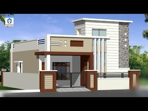 Top 30 Single Floor House Elevation Designs Front Elevation Designs For Small Small House Front Design Small House Design Exterior Single Floor House Design House front design indian style one floor