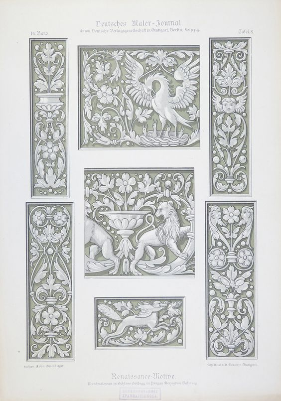 Titel   Renaissance-Motive. Wandmalereien im Schloss Goldegg im Pongau…