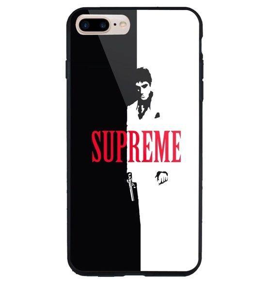 Best Supreme Black White Iphone 6 6s 7 8 X Plus Hard Plastic Case Unbrandedgeneric Cheap New Best Seller Design C White Iphone Iphone Case Design Iphone