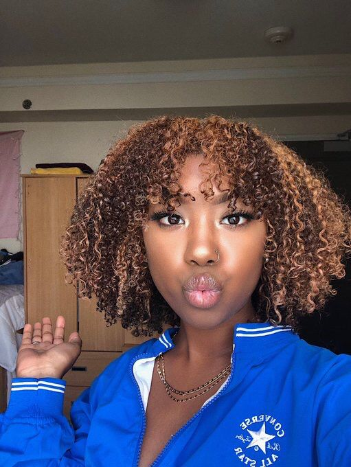 Follow For More Kaycedes Dyed Natural Hair Natural Hair Styles Curly Hair Styles