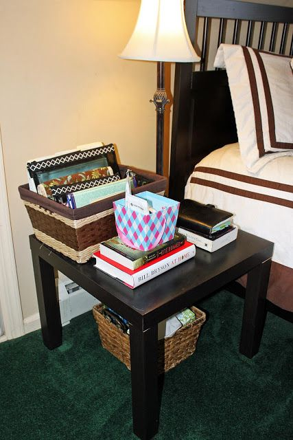 My Great Challenge: Organizing a bedside table