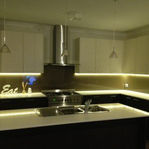 Led Strip Lighting Kit For Kitchen