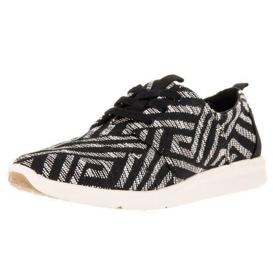 Toms Women's Del Rey Sneaker Tribal Casual Shoe