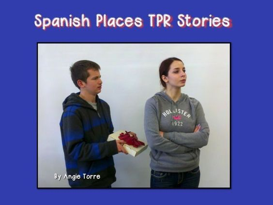 Spanish Places TPR Stories by Angie Torre.   In this packet there are two Spanish TPR stories that reinforce the vocabulary for places as well as other related verbs and vocabulary. Both stories are engaging and capture the interest of the students. The places covered are: la tienda de regalos, la librería, la oficina de correo, el supermercado, el restaurante, el banco.  In the first story, Maria breaks up with Paco and Paco does everything he can to get her back. In the second story, ...