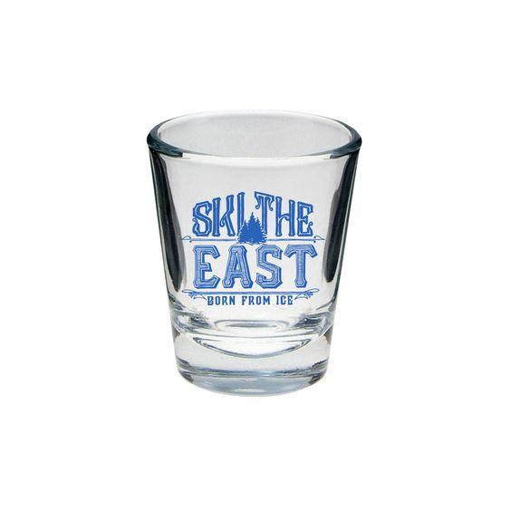 Ski The East Club Shot Glass 2016