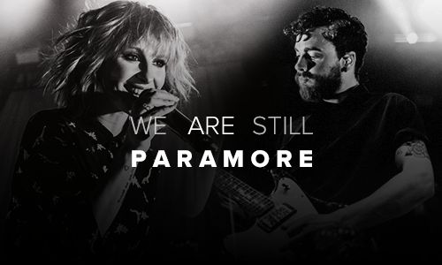We Are Duo. We Are Together. We Are Still Paramore.