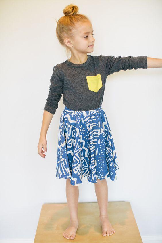 $22 Loola — LOOLA Ivy Skirt in royal blue satin