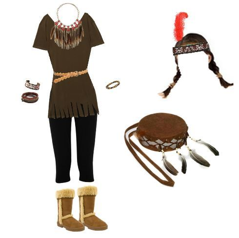 my DIY indian costume for Boots and Bows social | Halloween | Pinterest | Indian costumes Costumes and Halloween costumes  sc 1 st  Pinterest & my DIY indian costume for Boots and Bows social | Halloween ...