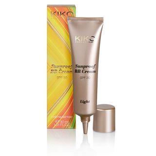 Flüssige strahlende Foundation mit Lichtschutzfaktor: BB Cream SPF30 - KIKO Make Up Milano