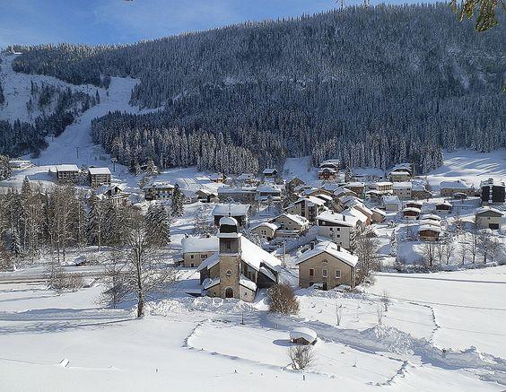 Station ski Jura - Mijoux
