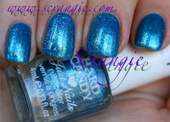 Hard Candy Just Nails - Blue Foil (mini)