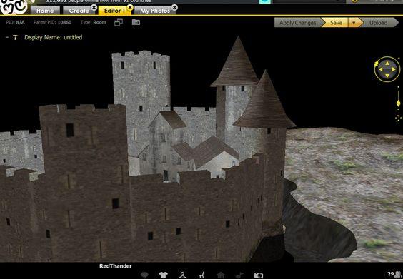 Castle 02 IMVU SALE ROOM