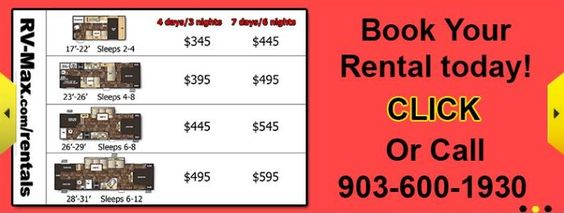Book your rental today!