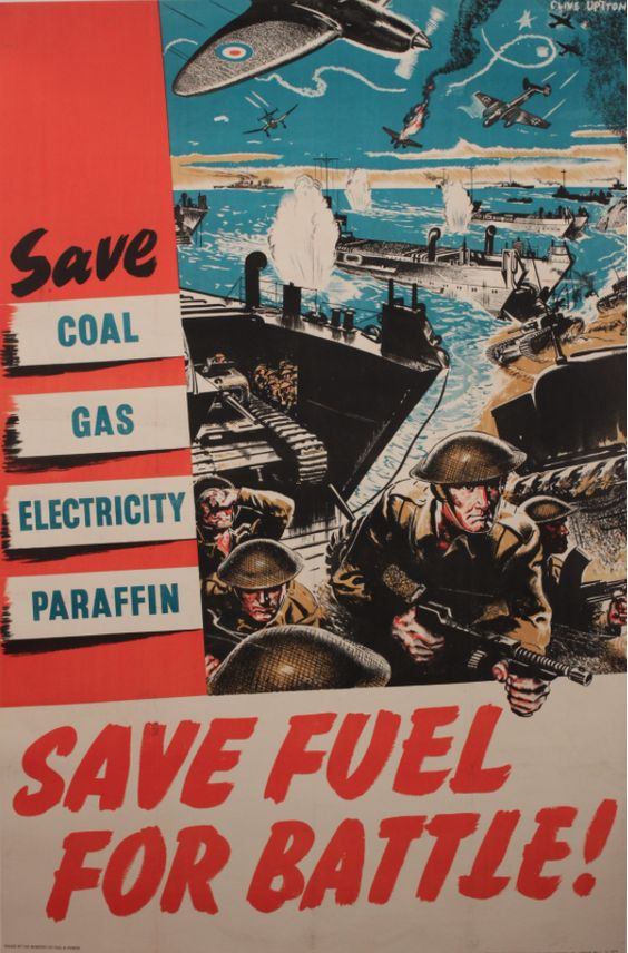 Save Fuel for Battle!