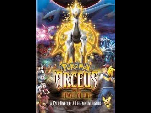 Pokemon Movie In Hindi Dubbed Arceus And The Jewel Of Life Youtube In 2020 Pokemon Movies Pokemon Movie 12 Film Pokemon