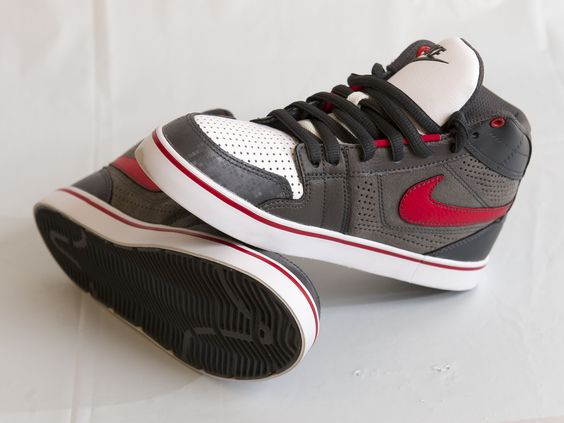 RETRO COOL: Red, white and grey running shoes by Nike, $59.99 at swhshoes.com. Enter to win a $ 500 shopping spree with @TheProvince and Brentwood Town Centre: http://theprov.in/pinandwin #backtoschool