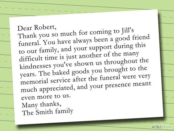33+ Best Funeral Thank You Cards Funeral - thank you notes for donation