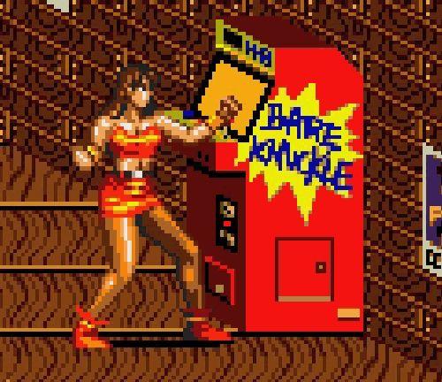 Blaze Fielding Arcade Game Concept Art Video Games Girls Nerd Games