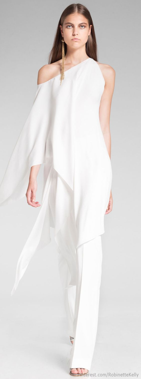 Donna Karan Resort 2014 Alternative Wedding Dress One