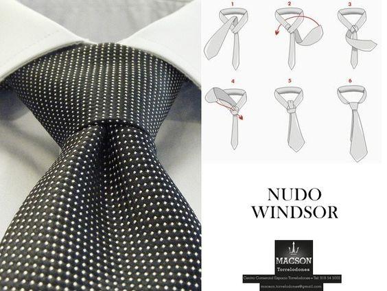 Nudo windsor corbata euros consejos para el for Nudo de corbata windsor