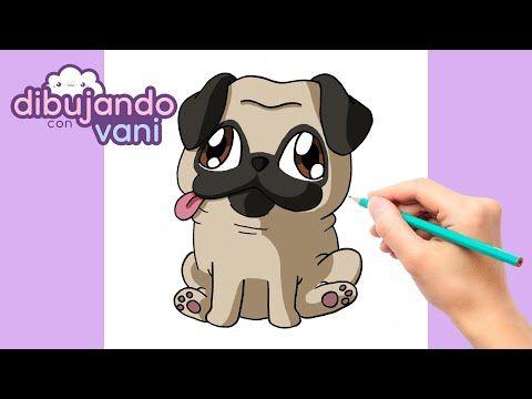 Como Dibujar Un Perro Pug Paso A Paso Dibujos Para Dibujar Imagenes Faciles Kawaii De Animales Youtub Como Dibujar Un Perro Perros Pug Dibujo Paso A Paso