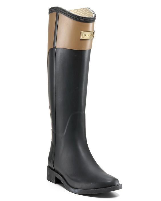 Hunter horse riding rain boots love the sleeker design of these