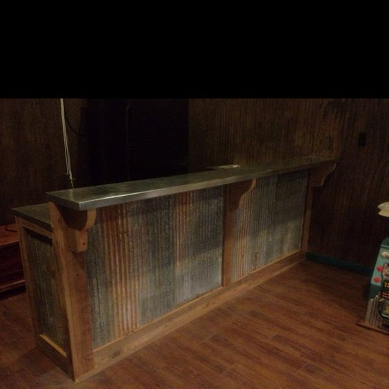 storage ideas between garage doors - Rustic bar by Andre Monceret My Style Pinterest