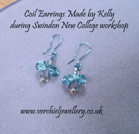 Made by Kelly during Swindon New College workshop.  www.verchieljewellery.co.uk