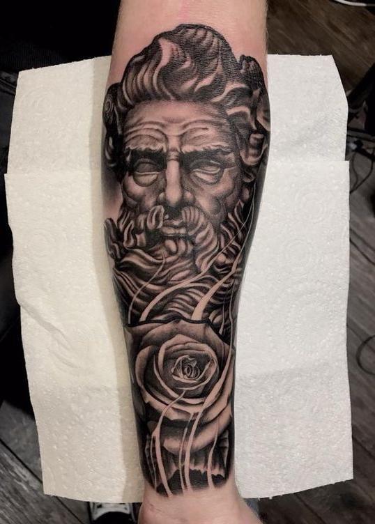 28 Trendy Greek God Tattoos You Want To Copy Greek Tattoos For Females Greek Mythology Tattoos Simple Greek Ta Greek God Tattoo Greek Tattoos Mythology Tattoos