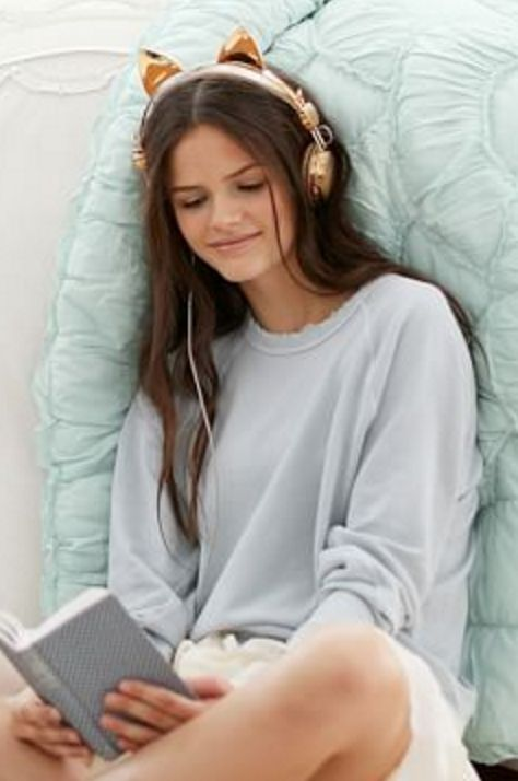 Gold Cat Ear Headphones