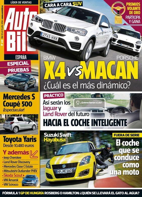 Revista #Autobild España 448. Hacia el #coche inteligente.