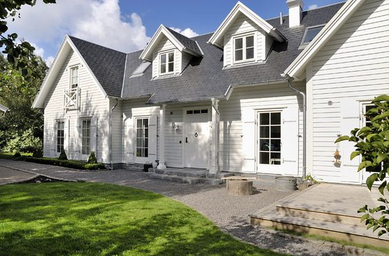 New England Style Dream Home Architecture Pinterest
